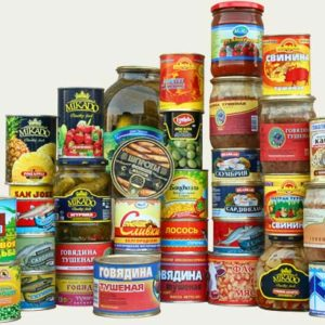 Can, Jars & Dry foods